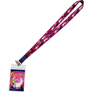 Sailor Moon Luna and Artemis Lanyard-Liston