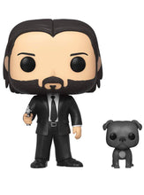 Cargar imagen en el visor de la galería, Funko Pop! Movies: John Wick - John in Black Suit with Dog Buddy