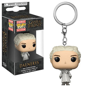 Funko Pop! Keychain: Game of Thrones - Daenerys (White Coat)