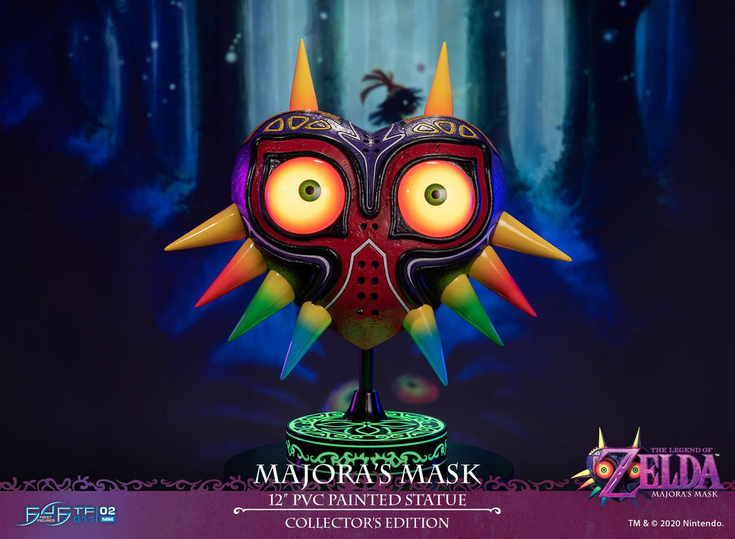 Lampara - Legend Of Zelda: TLOZ Majoras Mask - Estatua PVC 12 Pulgadas