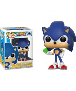 Funko Pop! Games: Sonic the Hedgehog - Sonic with Emerald