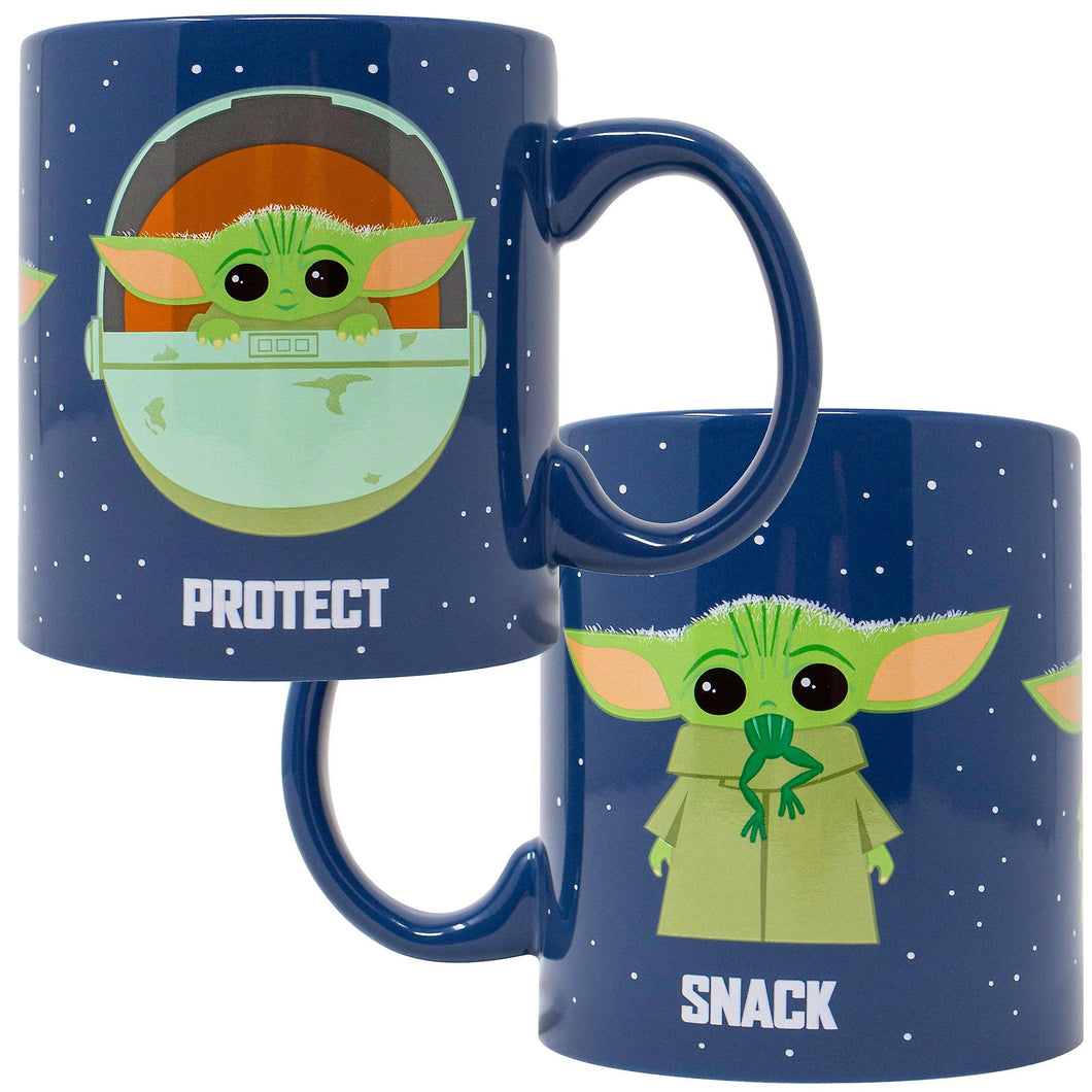 Star Wars the Mandalorian the Child Protect 20oz -Taza -Baby Yoda -