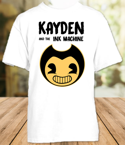 Bendy and The Ink Machine Party Personalized T Shirt or Onesie - All Sizes Available