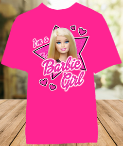 Barbie Blonde Im a Barbie Girl Color T Shirt - All Sizes Available