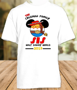 Disney World Disneyland Toy Story Personalized Family Vacation Jessie T Shirt or Onesie - All Sizes - DWTSJS1