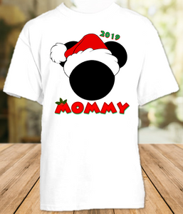 Mickey Minnie Mouse Merry Christmas Disney World Family Vacation T Shirt or Onesie - All Sizes - MMXMS1