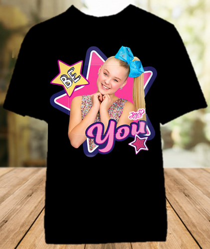 Jojo Siwa Be You Color T Shirt - All Sizes Available - JBYCS1