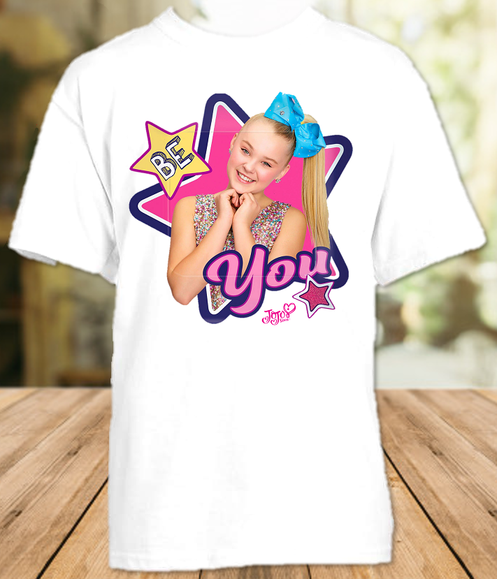 Jojo Siwa Be You T Shirt or Onesie - All Sizes - JBYS1