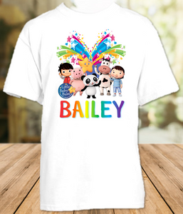 Little Baby Bum Party Personalized T Shirt or Onesie - All Sizes - LBBPS1