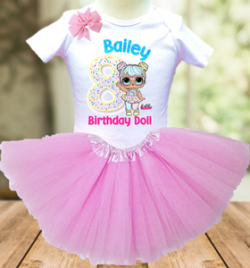 L.O.L. Surprise Dolls LOL Bon Bon Birthday Party Personalized Layer Tutu Outfit - All Sizes - LSTO02A
