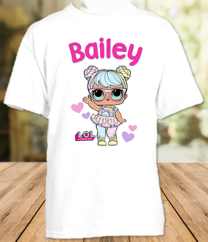 L.O.L. Surprise LOL Dolls Bon Bon Party Personalized T Shirt or Onesie - All Sizes - LOLBS2