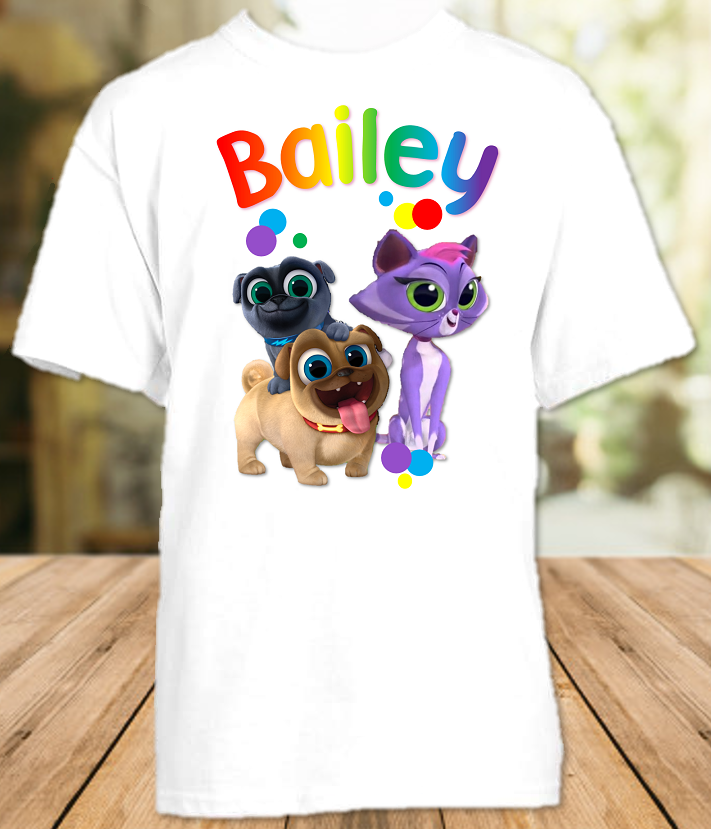 Puppy Dog Pals Party Personalized T Shirt or Onesie - All Sizes - PDPPS1