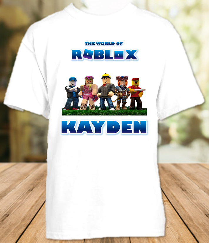 Roblox Party Personalized T Shirt or Onesie - All Sizes - RBPS1