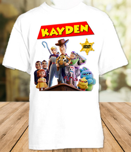 Toy Story 4 Party Personalized T Shirt or Onesie - All Sizes - TSPS1