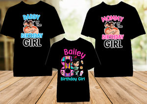 Wreck it Ralph Breaks Internet Vanellope Birthday Party Personalized Color T Shirt - 3 Pack - WVC3P