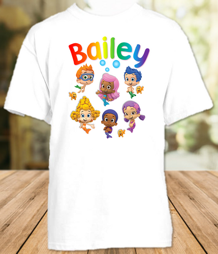 Bubble Guppies Party Personalized T Shirt or Onesie - All Sizes Available - BGS2