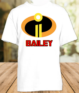 Disney World Family Vacation Incredibles 2 Personalized T Shirt or Onesie - All Sizes - DIS1