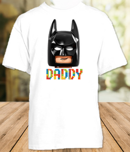 Legoland Lego Movie Batman Face Family Vacation Personalized T Shirt or Onesie - All Sizes - LVBMFS1