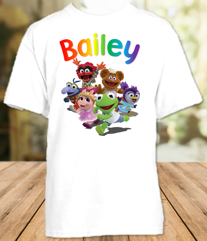 Muppet Babies Party Personalized T Shirt or Onesie - All Sizes - MUBPS1