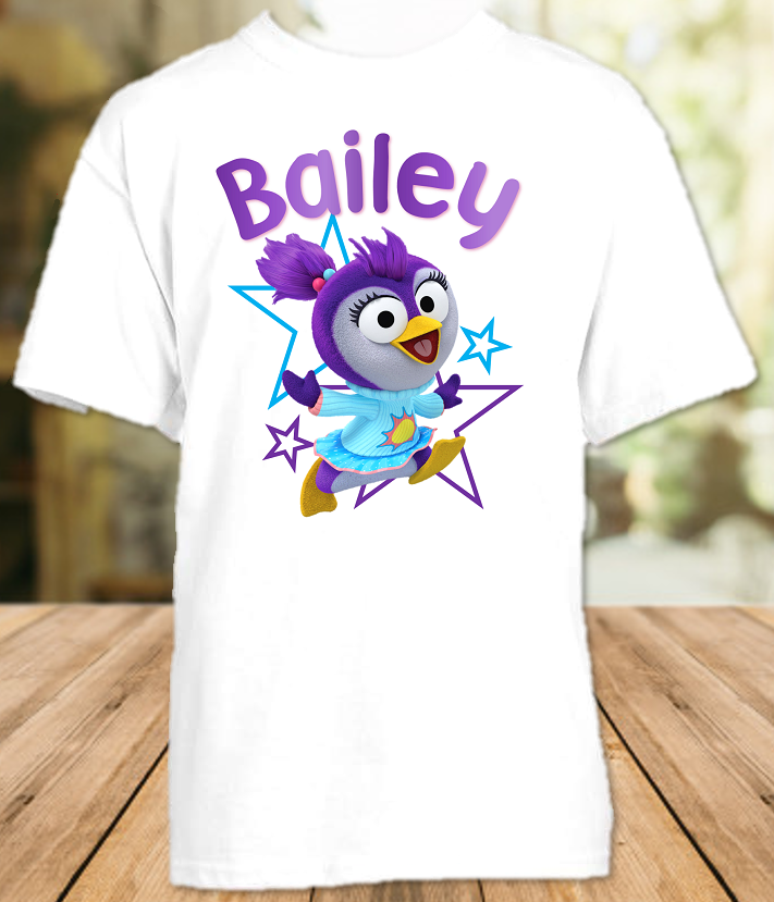 Muppet Babies Summer Penguin Party Personalized T Shirt or Onesie - All Sizes - MUBSPS1