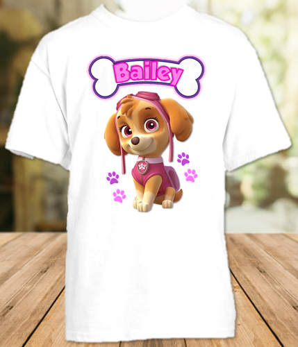 Paw Patrol Skye Party Personalized T Shirt or Onesie - All Sizes - PPSKPS1