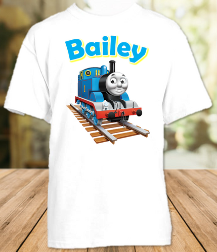 Thomas The Train Party Personalized T Shirt or Onesie - All Sizes - TTPS1