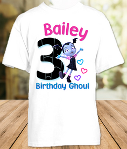 Vampirina Birthday Party Personalized T Shirt or Onesie - All Sizes - VS1