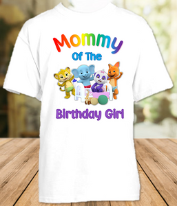 Word Party Birthday Party Personalized Mom Mommy Mother T Shirt - All Sizes - WPMS1