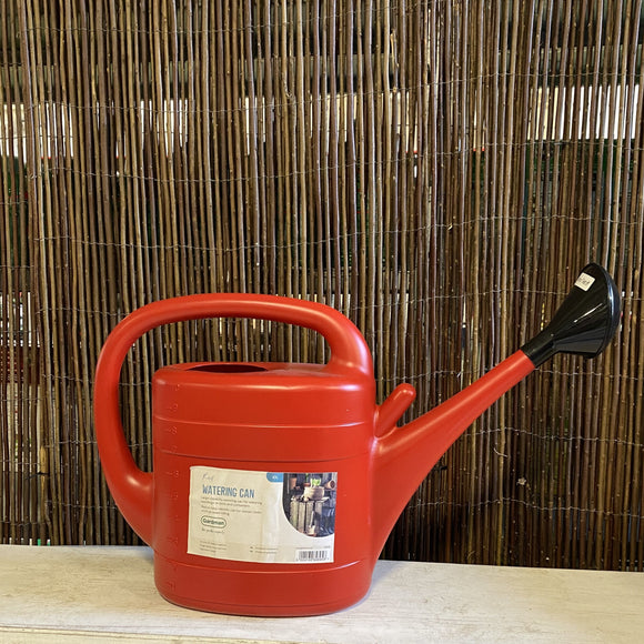 10L Red Watering Can
