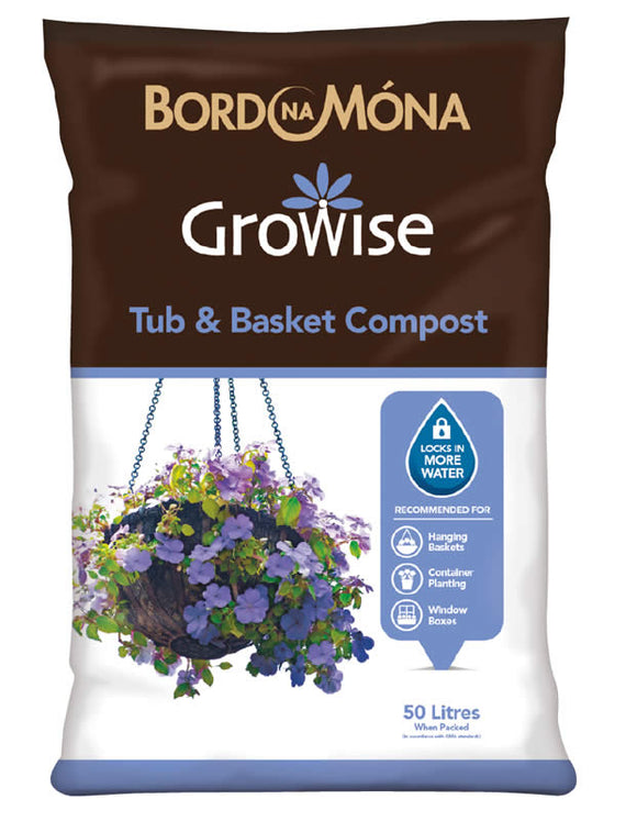 Growise Tub and Basket Compost 50L