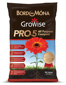 Growise Pro 5 All Purpose Compost 50L