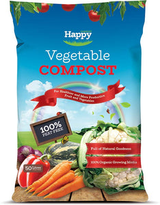 Happy Compost Vegetable Compost 50L