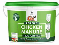 6X Pelleted Chicken Manure 8kg