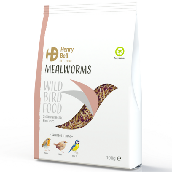Henry Bell Mealworms 100g