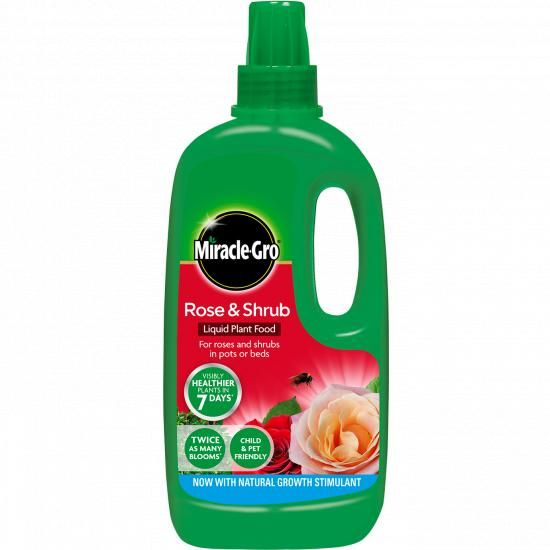 Miracle-Gro Rose & Shrub 1L Concentrate Feed