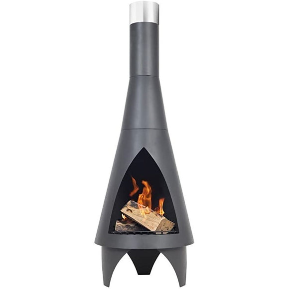 La Hacienda Colorado Steel Chimenea Medium