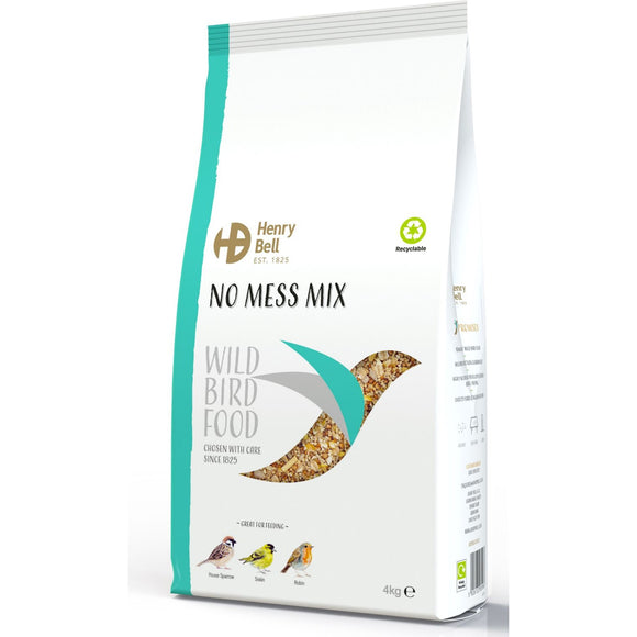 Henry Bell No Mess Mix Wild Bird Food 4kg
