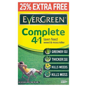 Miracle Gro Evergreen Complete 4 in 1 Refill Box 25% Extra