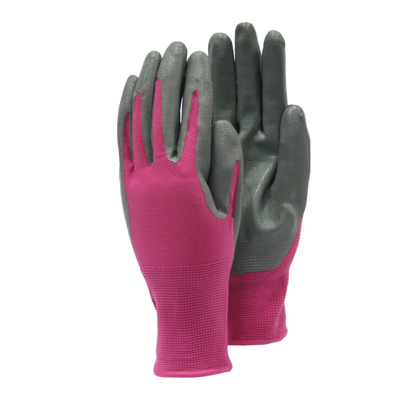 Weed Master Gloves - Medium (pink and grey)