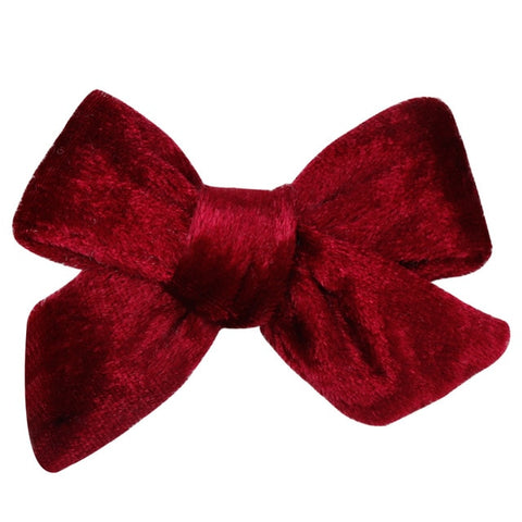 Image of Korean Girl Hair Rope Velvet Scrunchie leopard Elastic Hair Bands For Women Elegant Bow Ties Ponytail Holder Hair Accessories