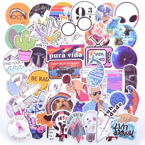 Image of Top 20 Styles of  Vsco Stickers for girls