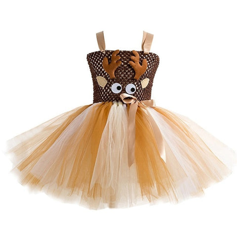 MUABABY Girl Toy Story Tutu Dress Children Summer Tulle Pageant Princess Party Outfit Halloween Rapunzel Elsa Anna Belle Costume