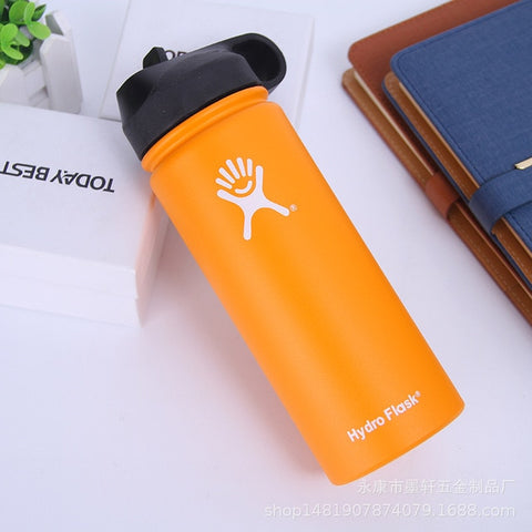 Image of Hydro Flask 18oz/32oz/40oz Vacuum Flask Insulated Thermos Stainless Steel Straw Water Bottle Wide Mouth Sport Travel Bottles