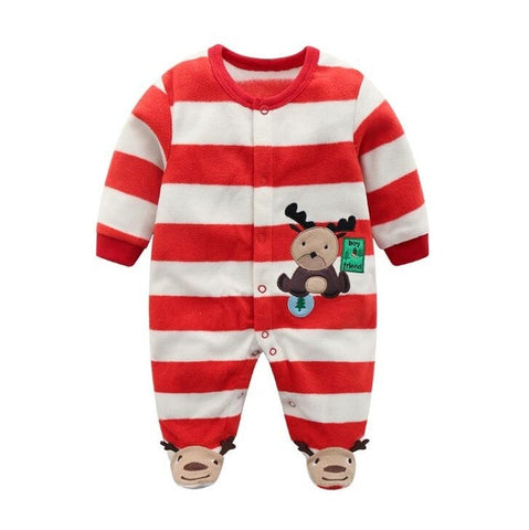 Image of Orangemom official Newborn baby boys spring baby Rompers girls romper Infant fleece Jumpsuit for kids new born baby clothes