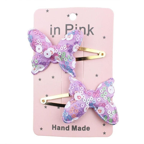 Image of 67Color 2PC lovely Children Hair Clips BB Hair Pins Heart Children Barrettes Hair accessories Head Wear