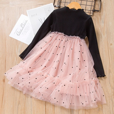 Melario Spring Girls Dresses Casual Baby Girls Clothes Kids Dresses for Girls Cotton Mesh Birthday Princess Dress New Daily Wear