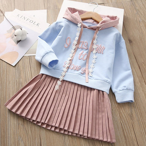 Image of Melario Girls Dresses 2020 Fashion Kids Girl Dress cartoon Long sleeve princess dress fashion kids dresses children's clothing