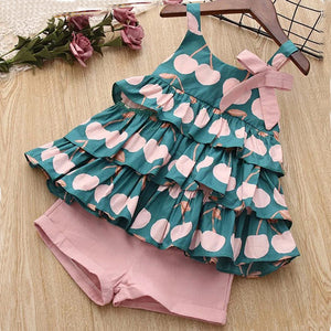 Bear Leader Clothing Sets 2020 Fashion Girls Rompers Kids Out Sunsuit Outfits Kids Clothes Floral Sunsuit Summer Cotton Clothes