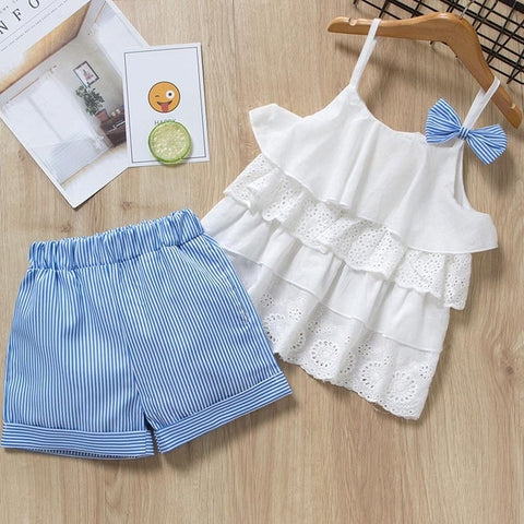 Image of Bear Leader Clothing Sets 2020 Fashion Girls Rompers Kids Out Sunsuit Outfits Kids Clothes Floral Sunsuit Summer Cotton Clothes