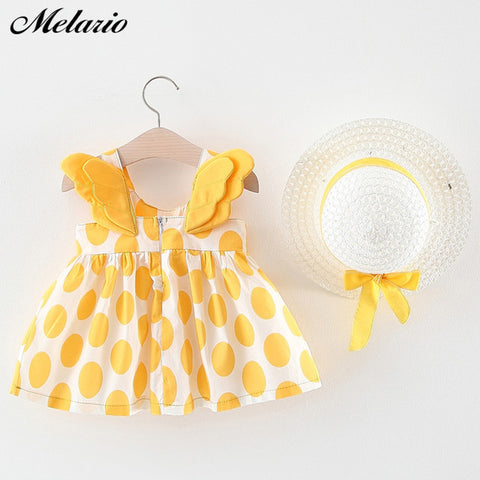 Image of Melario Newborn Baby Girl Dress for Girl 1 Year Birthday Dress Fashion Cute Princess Baby Dress Infant Clothing Toddler Dresses
